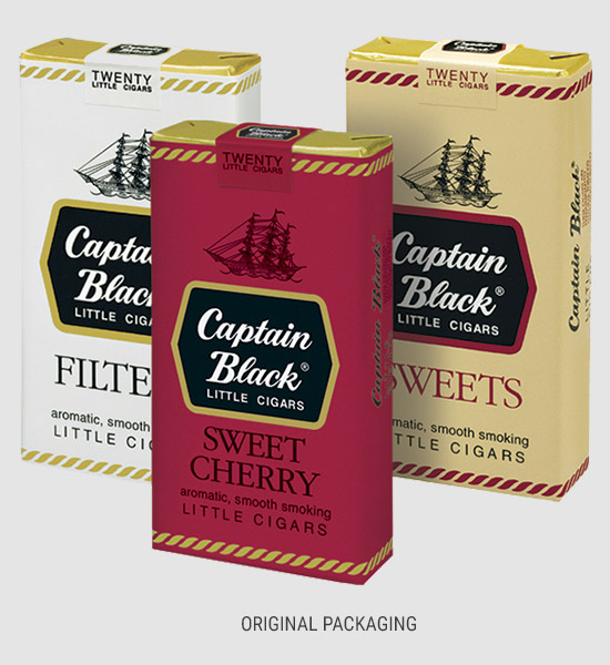 Captain Black original packaging