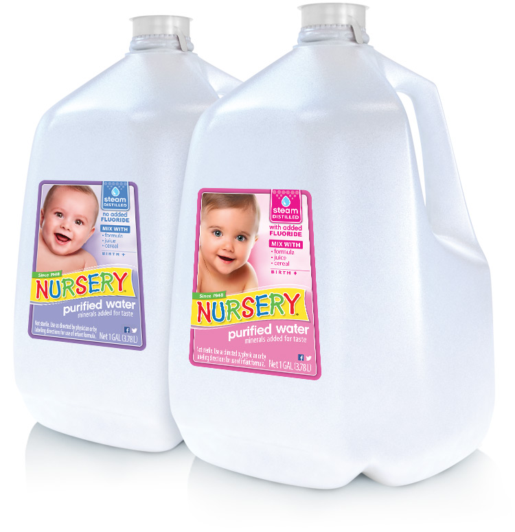 nursery water 1 gallon bottles