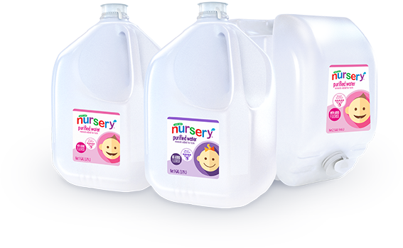 nursery water gallons